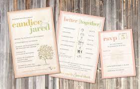 Rustic Wedding Invitations Vintage Soft Peach Sage Green