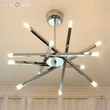 modern led ceiling light modern chrome home fixtures lighting