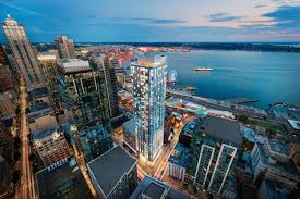 100 Seattle Penthouses Duo Of Atop S New Waterfront Condo Tower