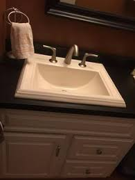 Kohler Overmount Bathroom Sinks by I Really Like The Sink And The Countertop Is Pretty Too The