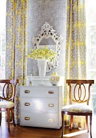 curtains yellow and gray curtain panels designs ombre dip dyed