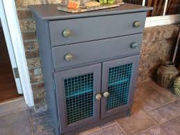 Chalk paint cabinet make over