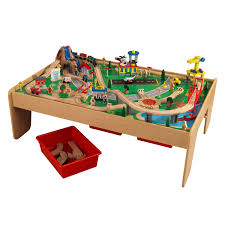 Kidkraft Easel Desk Uk by Kidkraft Waterfall Mountain Train Set And Table Toys