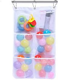 byqny bad spielzeug organizer spielzeugnetz für badewanne