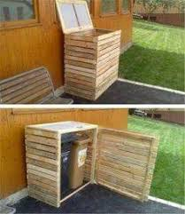 Tutorial Pallet Storage Bin Project Pallet Storage Pallets And