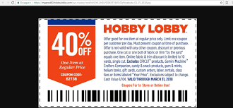 HOBBYLOBBY.COM 40 COUPON 2016 - Hlobbycom 40 Coupon 2016 Hobby Lobby Weekly Ad Flyer January 20 26 2019 June Retail Roundup The Limited Bath Oh Hey Off Coupon Email Archive Lobby Half Off Coupon Columbus In Usa I Hate Hobby If Its Always 30 Then Not A Codes Up To Code Extra One Regular Priced App Active Deals Techsmith Coupons Promo Code Discounts 2018 8 Hot Saving Hacks Frugal Navy Wife
