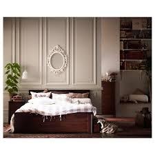 bed frames king size round bed frame ikea brimnes bed black