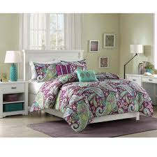 Studio A Marlo Paisley forter Set with 2 Decorative Pillows