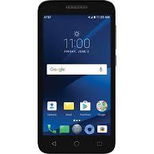 AT&T PREPAID Alcatel IdealXCite 8GB Prepaid Smartphone Black