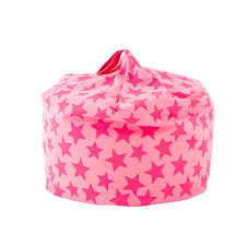 Pink Fluffy Bean Bag Kids Star Percent Off Fuzzy Chair
