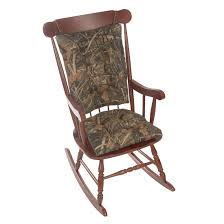 Realtree Brown Universal Rocking Chair Cushion