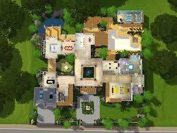 Sims 3 Legacy House Floor Plan by Mod The Sims The Grand Retreat A Modern Mansion