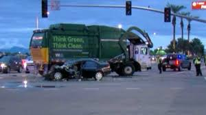 100 Garbage Truck Video Youtube PD 1 Dead In Chandler Crash With Garbage Truck