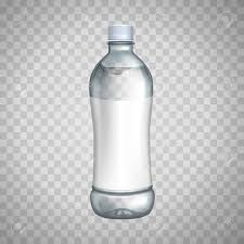 Plastic Bottles Clipart Blank Water