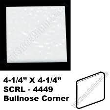 0400 mayan white 4 25 x 4 25 bullnose corner scrl4449 semi