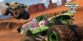 100 Monster Trucks Games Jam Steel Titans Nintendo Switch Download Software