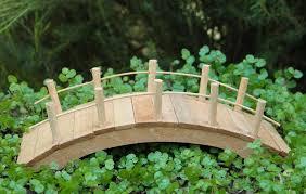 Fairy Garden Furniture Miniature Dollhouse Wood Bridge New EBay