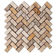 Oracle Tile And Stone Amazon by Andean Cream Travertine Herringbone Mosaic Tile Oracle Tile U0026 Stone