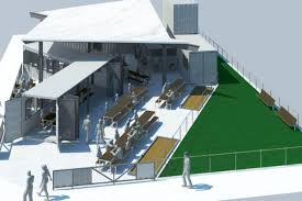 100 Shipping Container Beach House Huge Restaurant Heading To Imperial