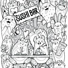 Kawaii Coloring Pages Cute Sheets Stunning Book Images Plus Girl Colouring