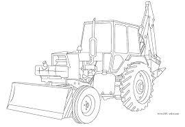 Coloriage Petit Tracteur Gratuit À Imprimer Intérieur Coloriage De