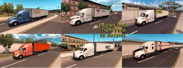 Painted Truck And Trailers Traffic Pack V1.1 By Jazzycat » American ... Improved Truck Physics 21 American Truck Simulator Mods Triple Diamond And Trailer Repair Paradise Sioux Falls North And Trucks Accsories Modification Image Gallery Scs Softwares Blog Trailers Custom Leasing Diff Lock Lift Axle Test 16 Ertl 3605 Texaco Tanker Serial 3069 Runaway Hobby Dark Blue Semi With Storage Container Stock Photo Illustration I5487380 At Featurepics