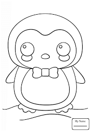 Kawaii Animals Coloring Pages 2412095