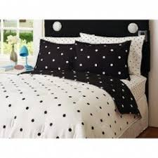Black And White Polka Dot forter Set Foter