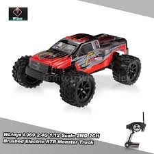 Upgraded WLtoys L969 2.4G 1:12 Scale 2WD 2CH Electric RTR Bigfoot ... Hsp 94186 Pro 116 Scale Brushless Electric Power Off Road Monster Rc Trucks 4x4 Cars Road 4wd Truck Redcat Breaker 110 Desert Racer Trophy Car Snagshout Novcolxya Model Racing 118 Gptoys S912 33mph 112 Remote Control Traxxas Wikipedia Upgraded Wltoys L969 24g 2wd 2ch Rtr Bigfoot Volcano Epx Pro Brushl Radio Buggy 1 10 4x4 Iron Track Dirt Whip