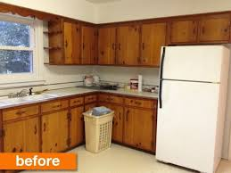 Before After A 1950s Kitchen Gets Modern DIY Makeover