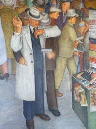 Coit Tower Murals Book by Mural Glancing Blows