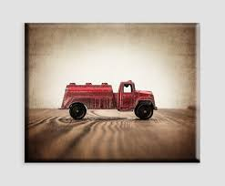 Buy 4 Panel Wall Art Old Vintage Truck On The Prairie Painting ...