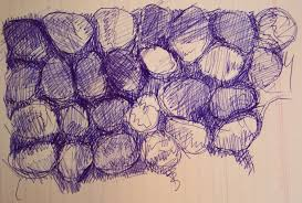 Making The Blue Ball Point Pen Famous One Artist At A Time Aletha