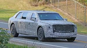 100 Limo Truck Release The Beast Trumps Cadillac CT6 Presidential Spotted
