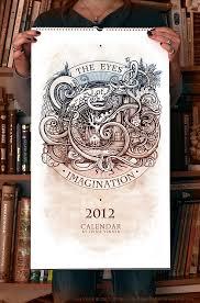 55 Cool Creative Calendar Design Ideas For 2013