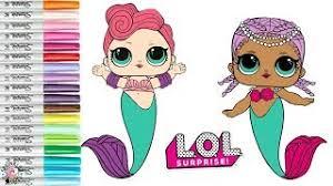 LOL Surprise Dolls Transform Into MERMAIDS