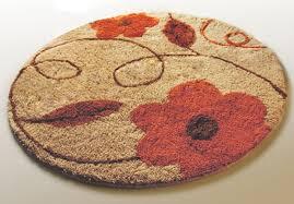 captivating round bath rugs decorative bath rugs round flower bath
