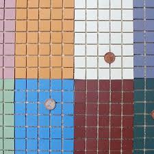unglazed porcelain mosaic tile 3 4 inch