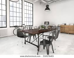 Industrial Interior Design Stock Royalty Free