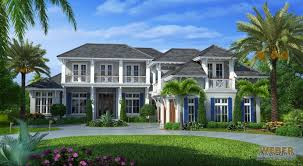 Caribbean Breeze British West Indies House Plan Weber Design Group