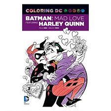Coloring DC Batman Mad Love Featuring Harley Quinn