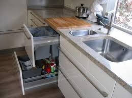 abfallsystem unter der spüle geruchsminimierung küchen