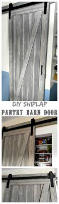 Shiplap Barn Door - How To Make A Sliding Barn Door Bedroom Closet Barn Door Diy Cstruction How To Build Sliding Doors Custom Built Wooden Alinum Dutch Exterior Stall Epbot Make Your Own For Cheap Decor Diyawesome Interior Diy Decorations Bathroom Awesome Bathroom To A Inspired John Robinson House Ana White Cabinet For Tv Projects Build Barn Doors Tms 6ft Antique Horseshoe Wood A Howtos Let Us Show You The Hdware Do Or