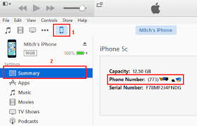 iPhone Find Your Phone Number