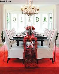 Christmas Chair Decorations Decoration Source Ideas Brilliant Holiday Dining Room Covers