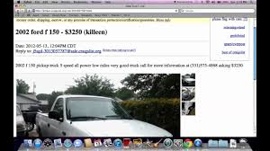 Craigslist Temple TX Used Cars - Prices Under $1500 Available On ...