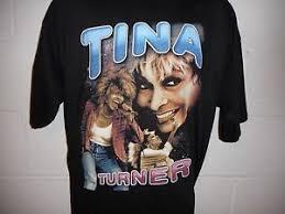Image Is Loading Vintage Rap Tee Tina Turner Concert Tour T