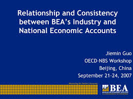 Bea National Economic Accounts Bureau Of Ppt Relationship And Consistency Between Bea S Industry And