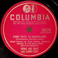 pat a angouleme swing and sway with sammy kaye come back to angoulême
