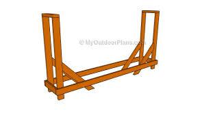 firewood rack plans myoutdoorplans free woodworking plans and